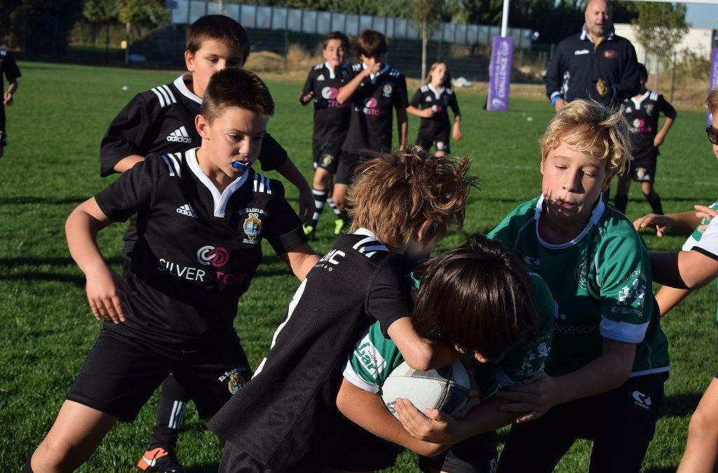 La Escuela Robher Asesores León Rugby Club viaja a Salamanca y Burgos