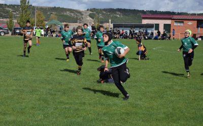 La Escuela Robher Asesores León Rugby Club suma experiencia en competición
