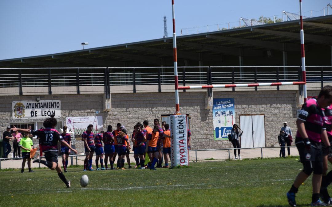 Lucas Grene y Óscar Lendínez, jugadores del EDM Robher Asesores León RC, disputarán con la Selección de Castilla y León Sub-18 el Campeonato de España de 7's en Alzira