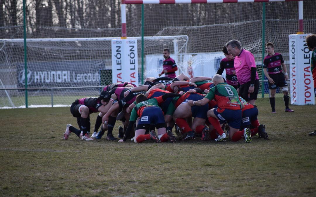 El ULE Toyota León Rugby Club cede ante el UR Besaya UC