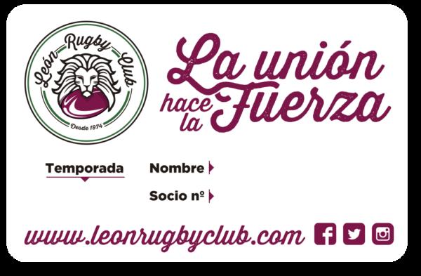 Carné Socio León Rugby Club