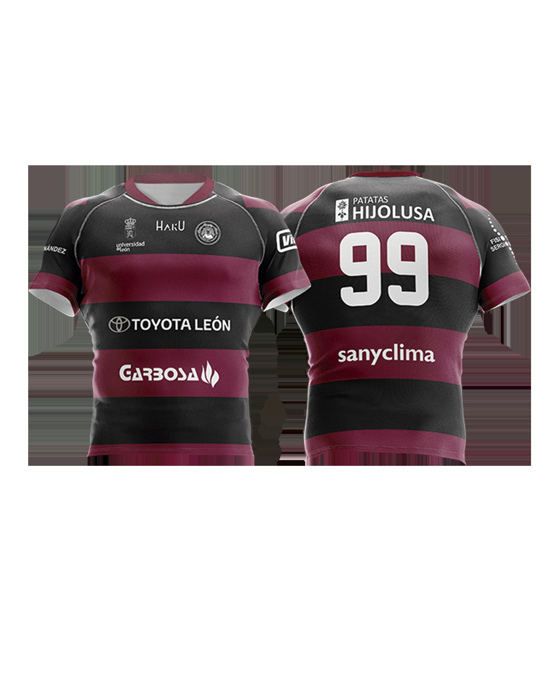 Camiseta Titular ULE Toyota León Rugby Club 18-19  d0427067b18dc
