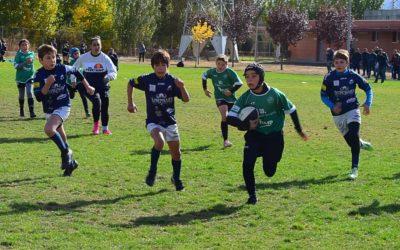 Los Sub-12 y Sub-14 de la Escuela Robher Asesores León Rugby Club siguen sumando en Valladolid