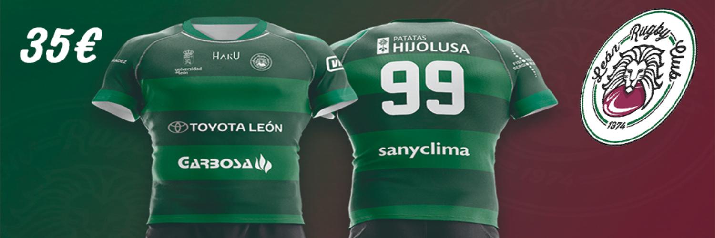 No te quedes sin tu camiseta de la segunda equipación del León Rugby Club