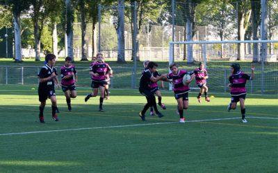 La Escuela Robher Asesores León Rugby Club destaca en Salamanca