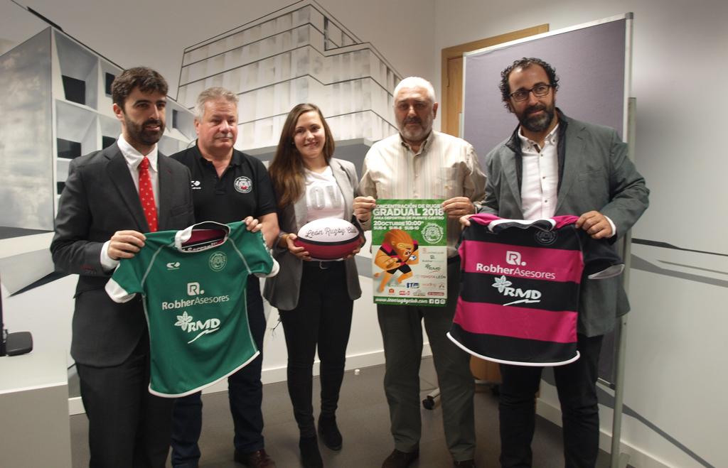 El León Rugby Club presenta su Concentración Anual de Rugby Gradual