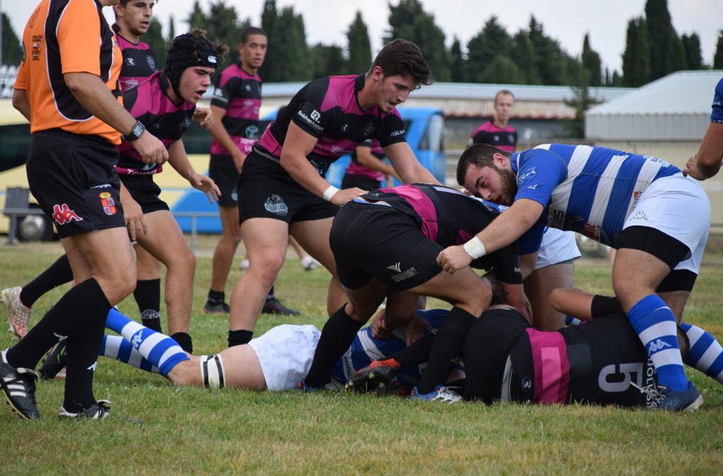 Amargo debut para el ULE Toyota León Rugby Club y la Escuela Robher Asesores León Rugby Club