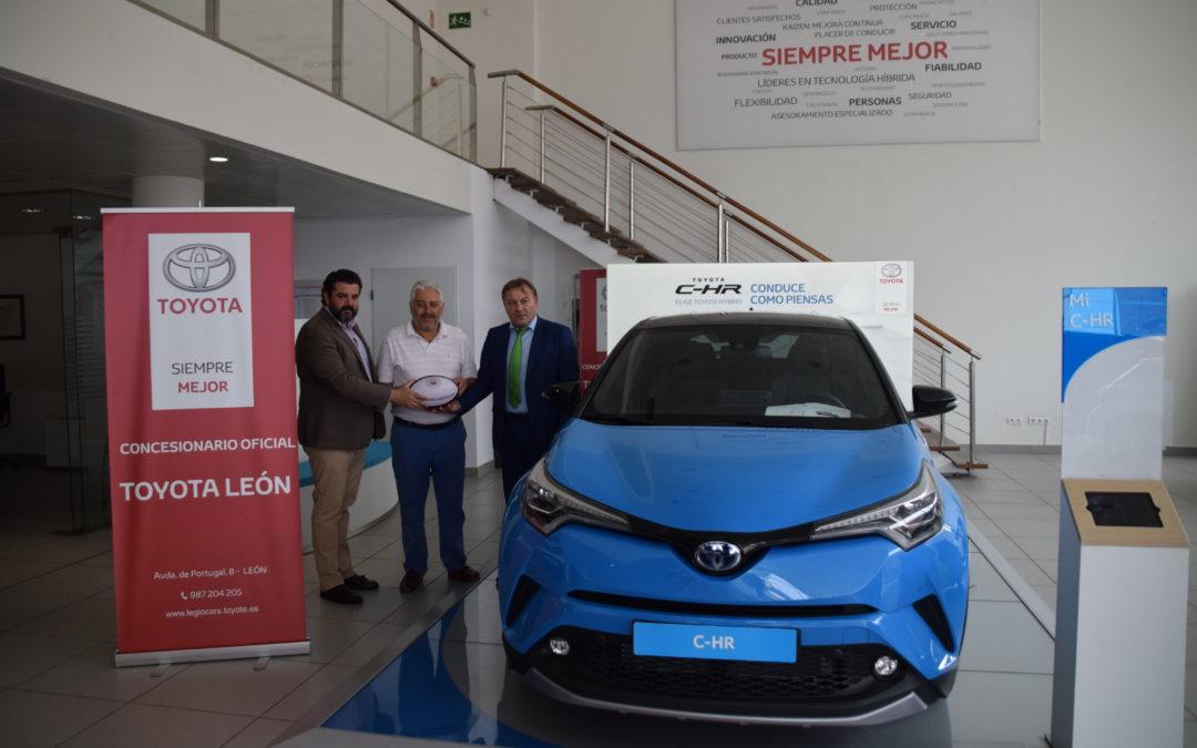 Toyota León mantiene su apuesta por el León Rugby Club