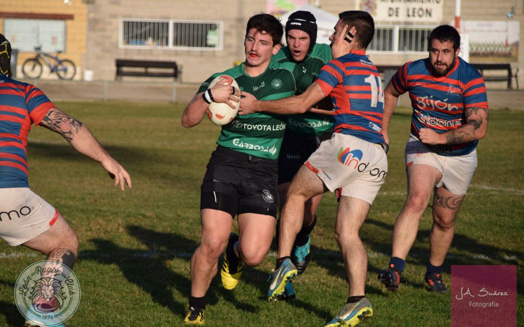 El ULE Toyota León Rugby Club regresa a la senda de la victoria