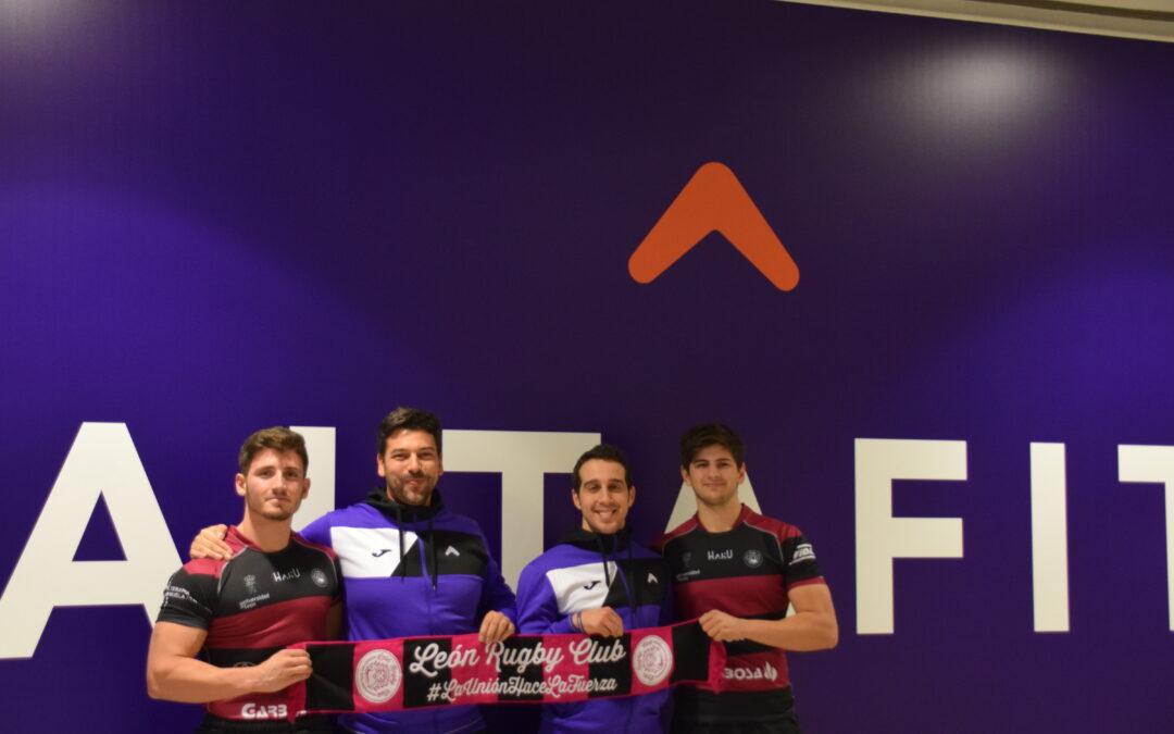 Altafit Gym Club y el León Rugby Club unen sus fuerzas