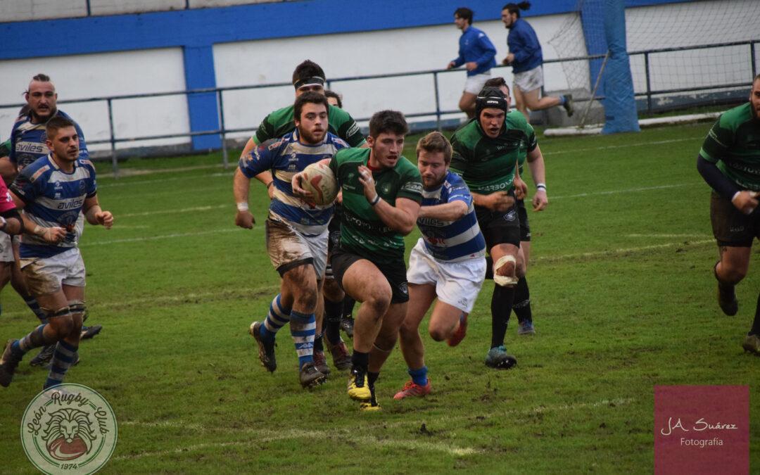 Buenas sensaciones del ULE Toyota León Rugby Club ante un candidato al ascenso