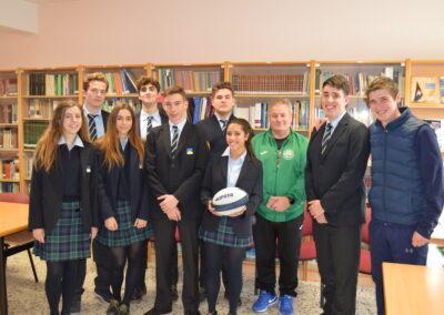 Acto-de-presentación-del-acuerdo-entre-Peñacorada-y-el-León-Rugby-Club-que-permitirá-que-sea-el-deporte-oficial-del-colegio.