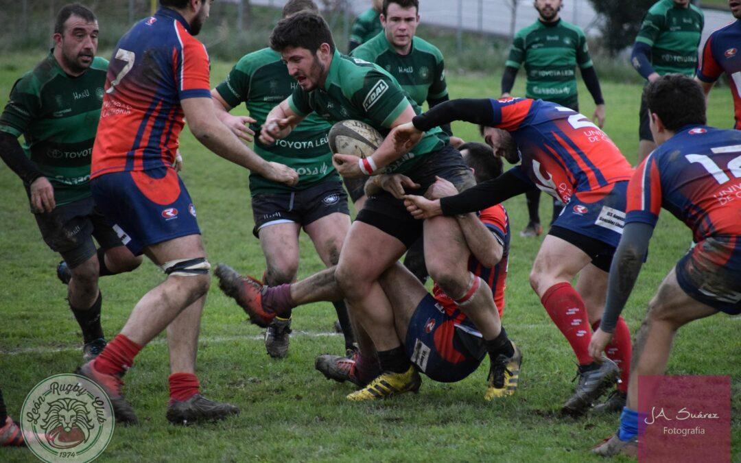 El ULE Toyota León Rugby Club aprieta la lucha por el Playoff