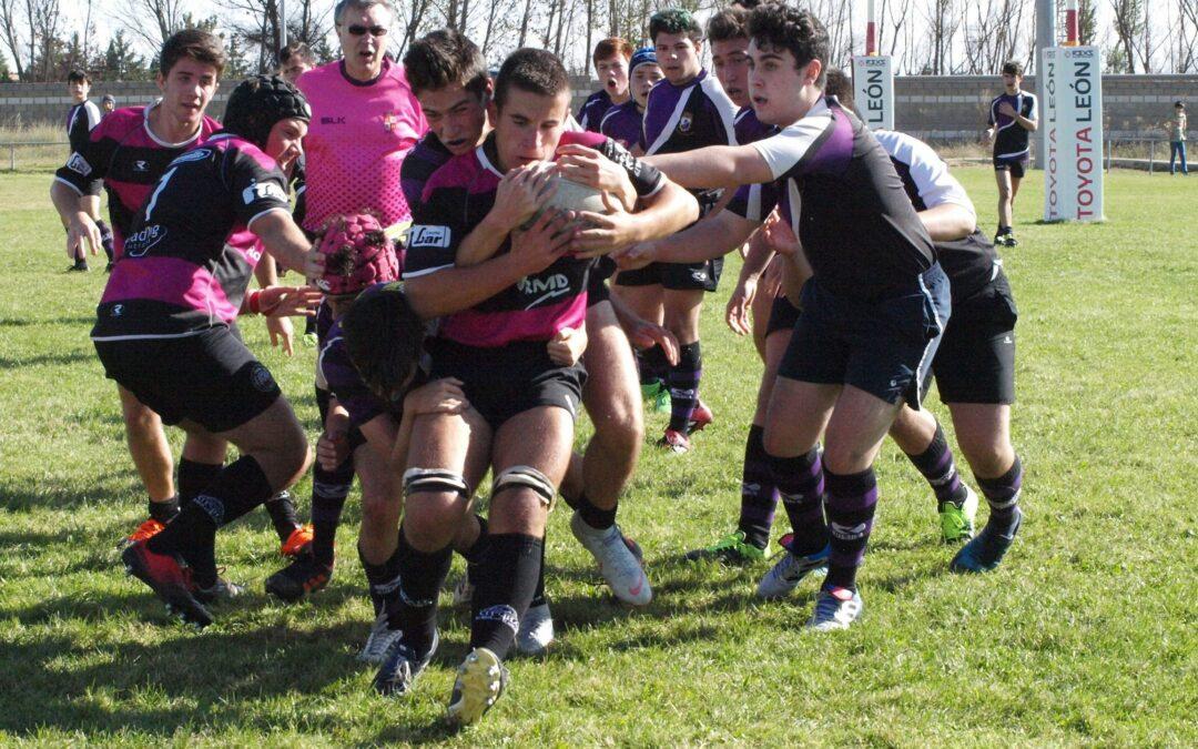 La Escuela Robher Asesores León Rugby Club ante un fin de semana importante en sus aspiraciones