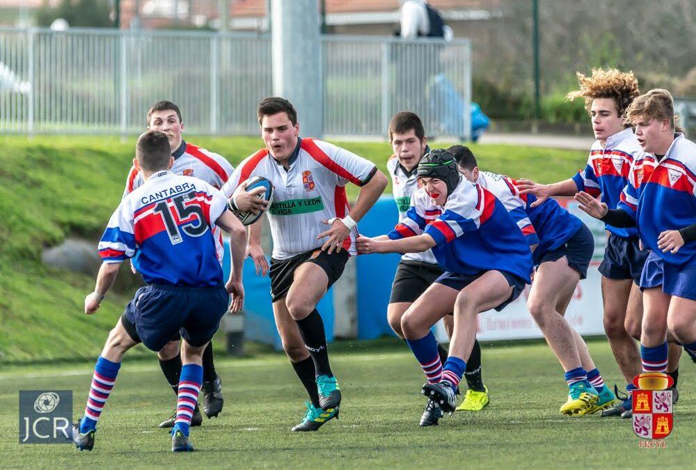 La Escuela Robher Asesores León Rugby Club con protagonismo en las selecciones regionales