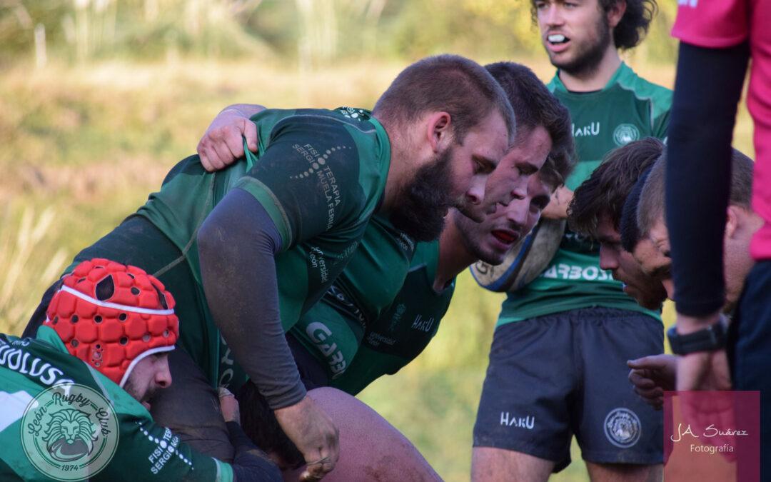 El líder llega para medirse al ULE Toyota León Rugby Club