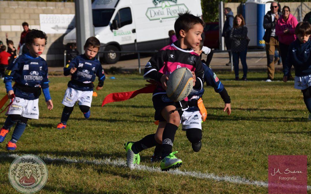 La Escuela Robher Asesores León Rugby Club presente en Arroyo de la Encomienda