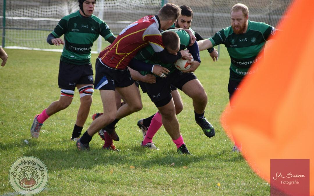 Ligero paso atrás del ULE Toyota León Rugby Club en Salamanca
