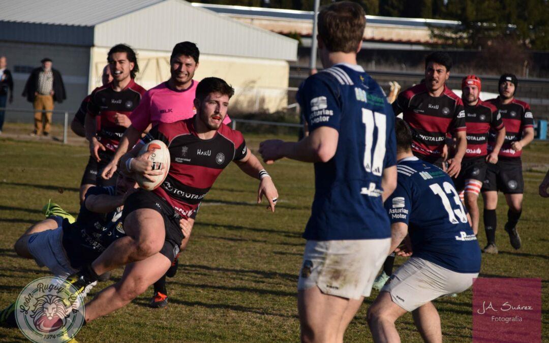El ULE Toyota León Rugby Club planta cara al intratable líder
