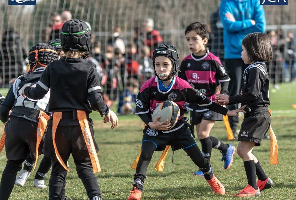 La Escuela Robher Asesores León Rugby Club destaca en Arroyo de la Encomienda