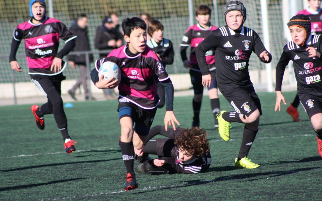 La Escuela Robher Asesores León Rugby Club protagonista en Arroyo y Palencia