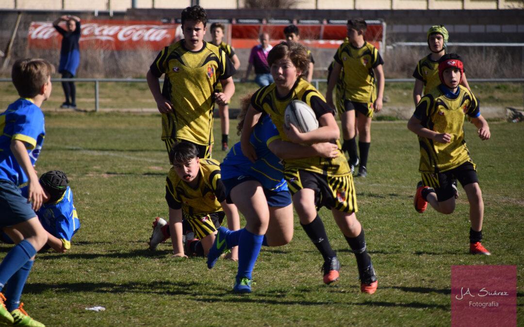 Los componentes de la Escuela Robher Asesores León Rugby Club destacan con las selecciones regionales