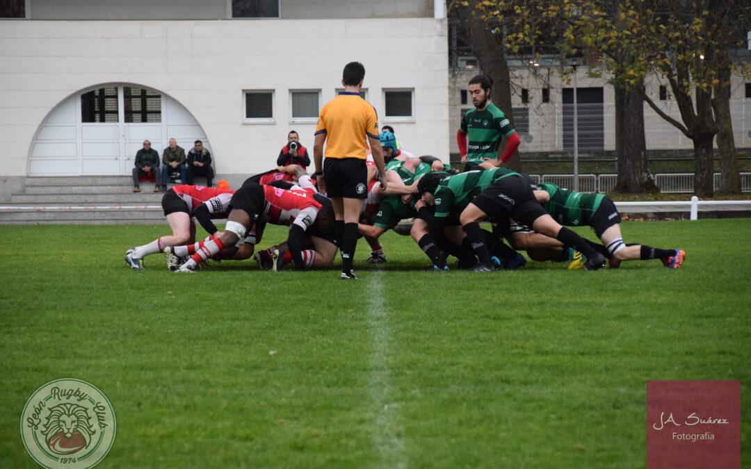 El ULE Toyota León Rugby Club busca levantar el vuelo