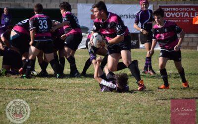 Salamanca se cruza en el camino de la Escuela Robher Asesores León Rugby Club