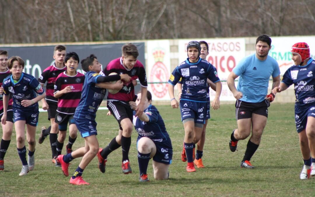 La Escuela Robher Asesores León Rugby Club y León anfitriones de excepción de la Concentración de Canteras Sub-12 y Sub-14