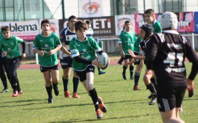 Gran sabor de boca para la Escuela Robher Asesores León Rugby Club en un fin de semana completo