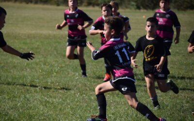 La Escuela Robher Asesores León Rugby Club participa en la última Concentración de Canteras de la temporada