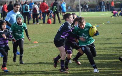La Escuela Robher Asesores León Rugby Club participa en el Festival Nacional y estará presente en Portugal este fin de semana