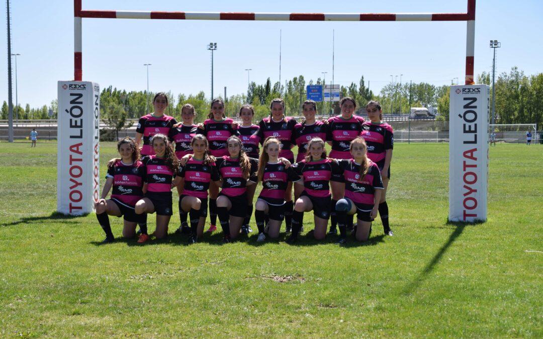 Fin de semana intenso para la Escuela Robher Asesores León Rugby Club para su equipo femenino y el Sub-16 y Sub-18 en Gijón