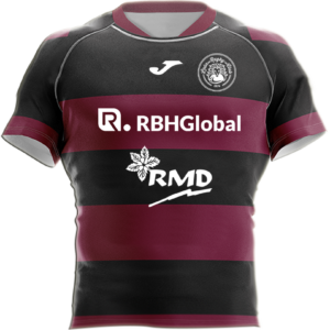 Camiseta Rugby Reversible Escuela RBH Global León Rugby Club Magenta