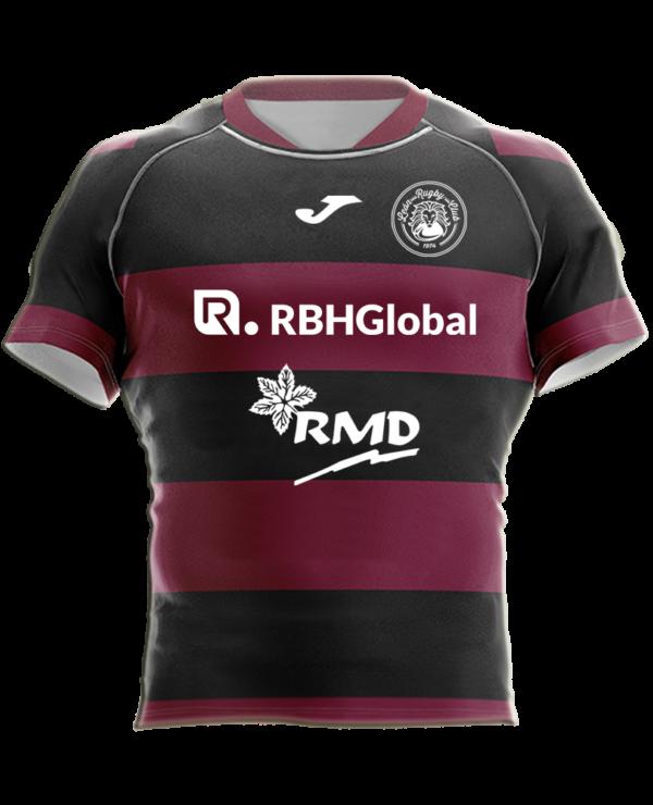 Camiseta Rugby Reversible Escuela RBH Global León Rugby Club Magenta