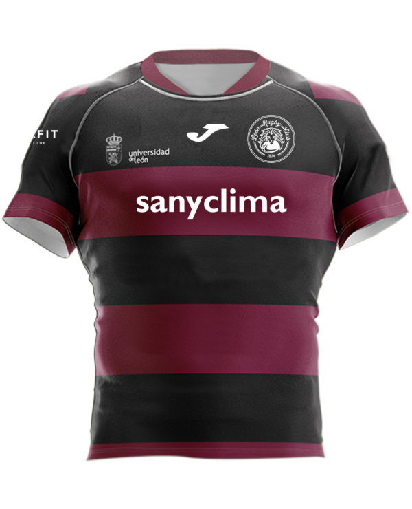 Camiseta Rugby Sénior Reversible ULE Albeitar León Rugby Club Magenta