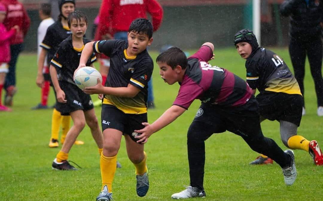 Los más pequeños de la Escuela RBH Global León Rugby Club debutan en su primera Concentración de Rugby Gradual de la temporada