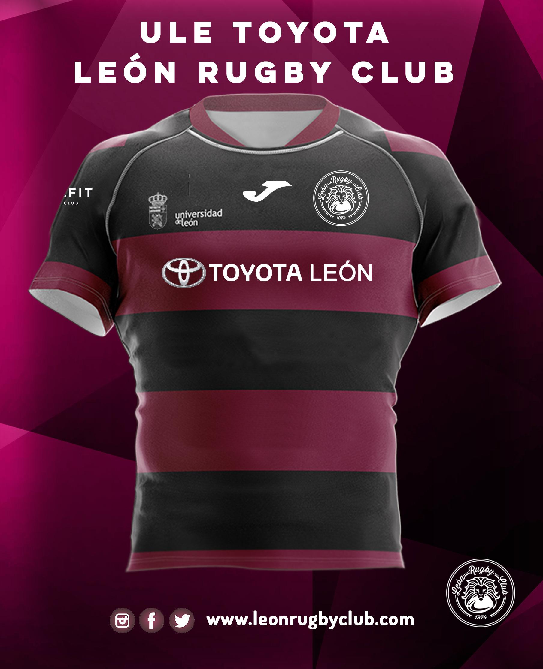 Camiseta de rugby reversible ULE Toyota León Rugby Club 19-20