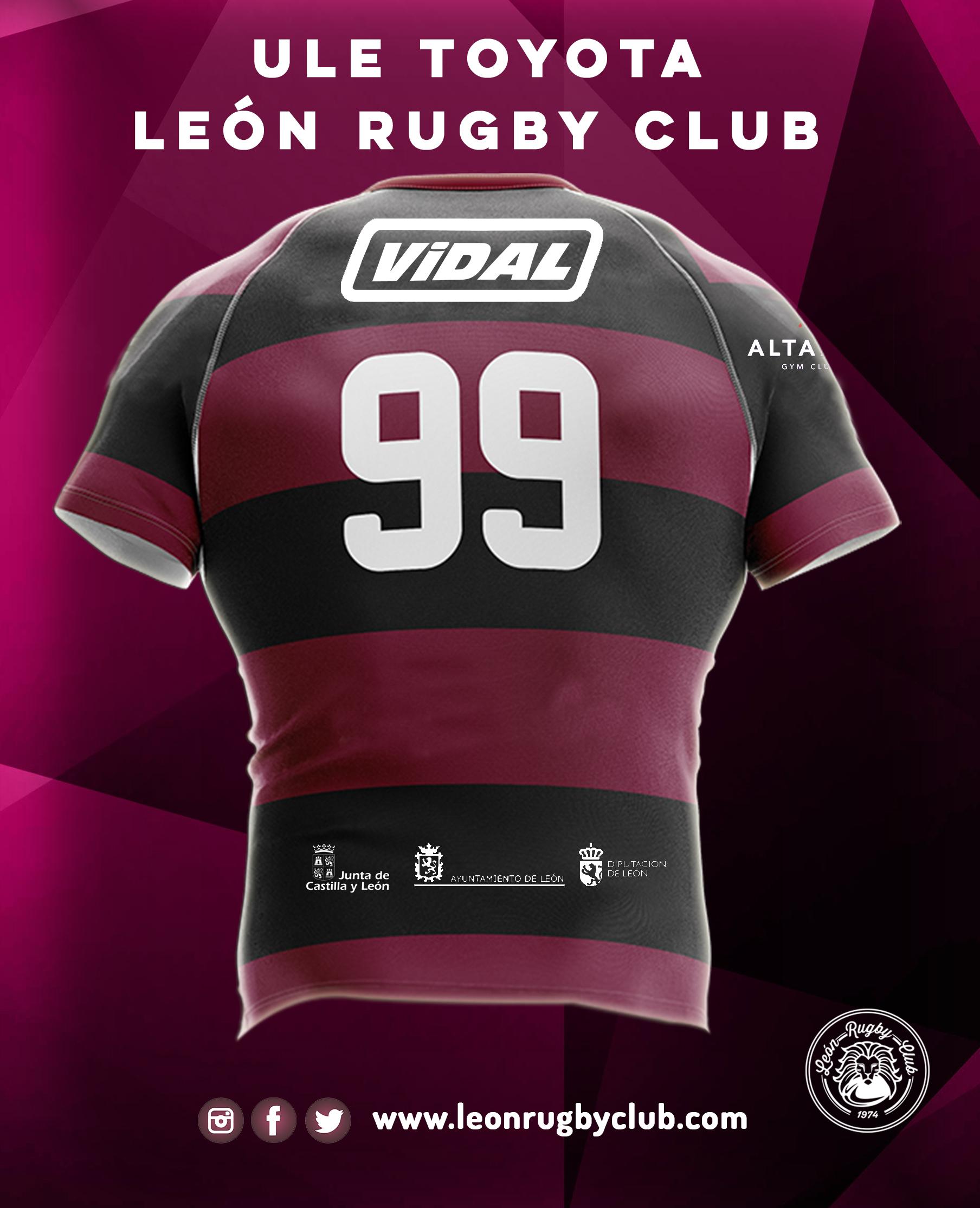 SÉNIOR MASCULINO Camiseta y Patrocinadores 2019-2020 Trasera