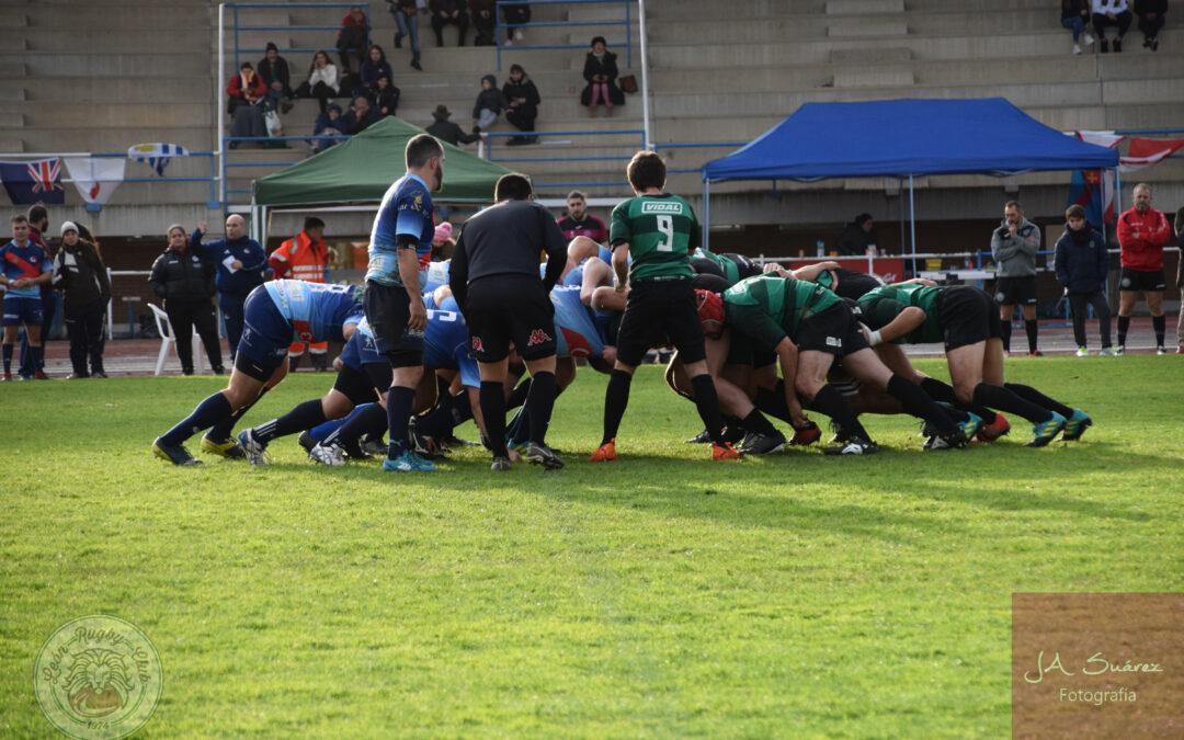 Contudente victoria del ULE Toyota León Rugby Club frente al Coreti Bierzo Rugby Club
