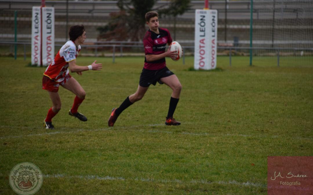 Trabajada victoria del ULE Toyota León Rugby Club frente al Ascensores Zener Rugby Arroyo