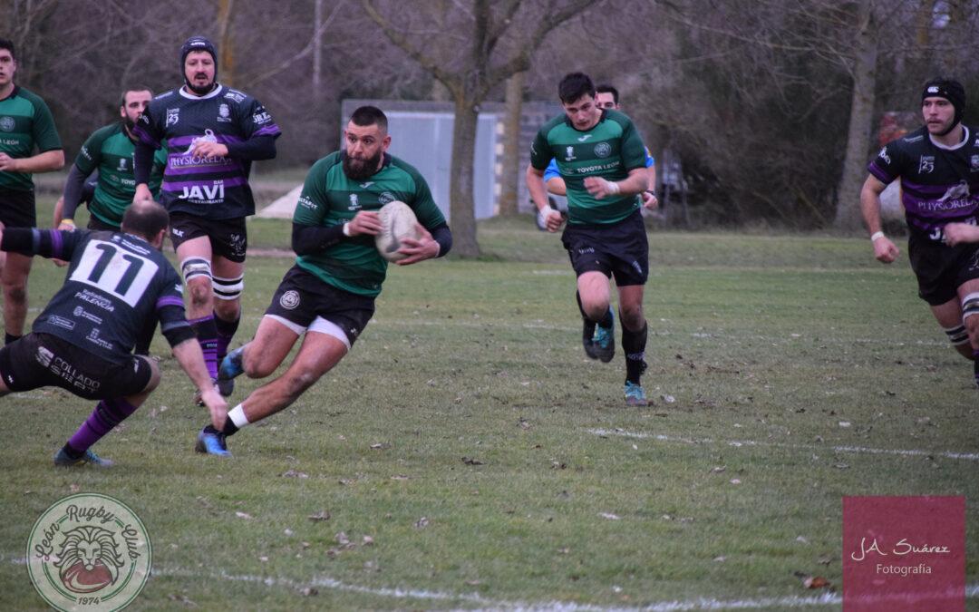 El ULE Toyota León Rugby Club cae ante el Physiorelax Palencia Rugby Club