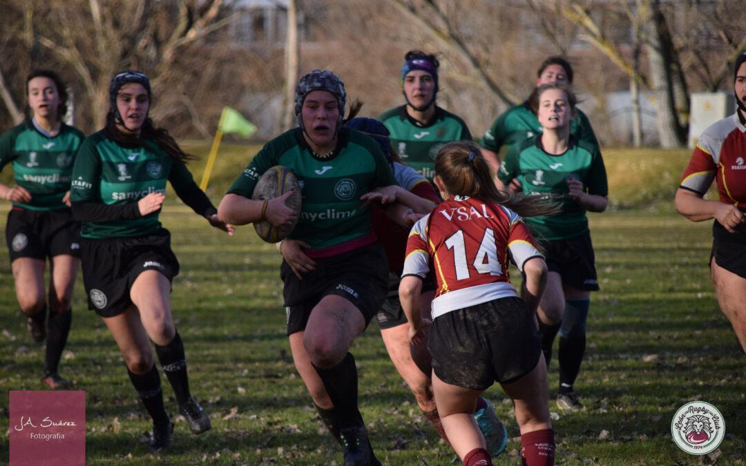 Importante victoria del ULE Albéitar León Rugby Club frente al ADUS Rugby