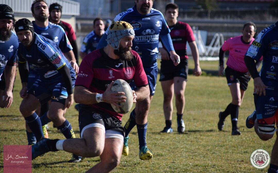 Contundente victoria del ULE Toyota León Rugby Club frente al VRAC Quesos Entrepinares