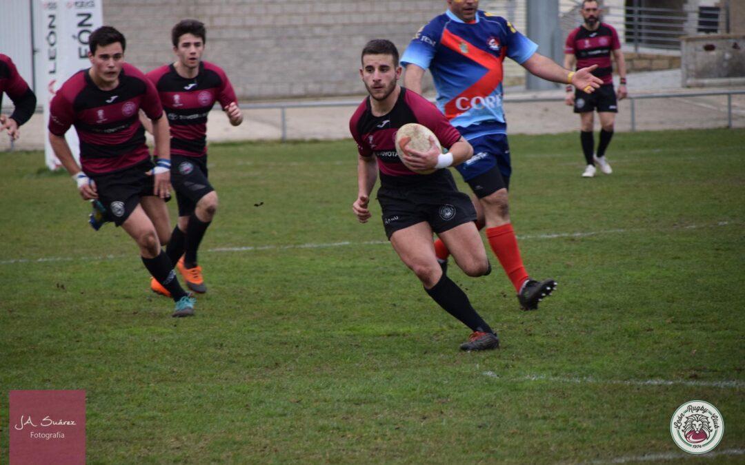 Contundente victoria del ULE Toyota León Rugby Club frente al Bierzo Rugby en el derbi provincial