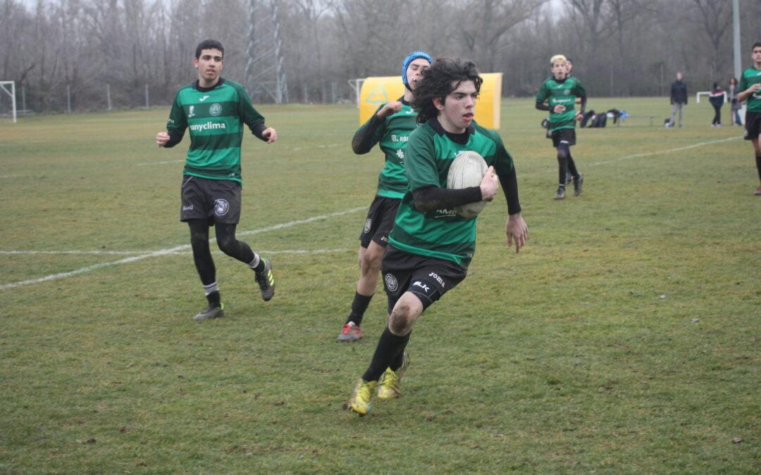 Buenas sensaciones para la Escuela RBH Global León Rugby Club en la vuelta a la competición