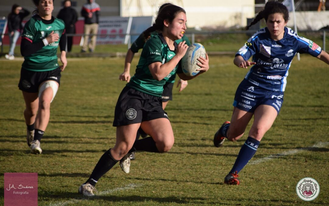 Importante victoria para el ULE Albéitar León Rugby Club frente al VRAC Quesos Entrepinares