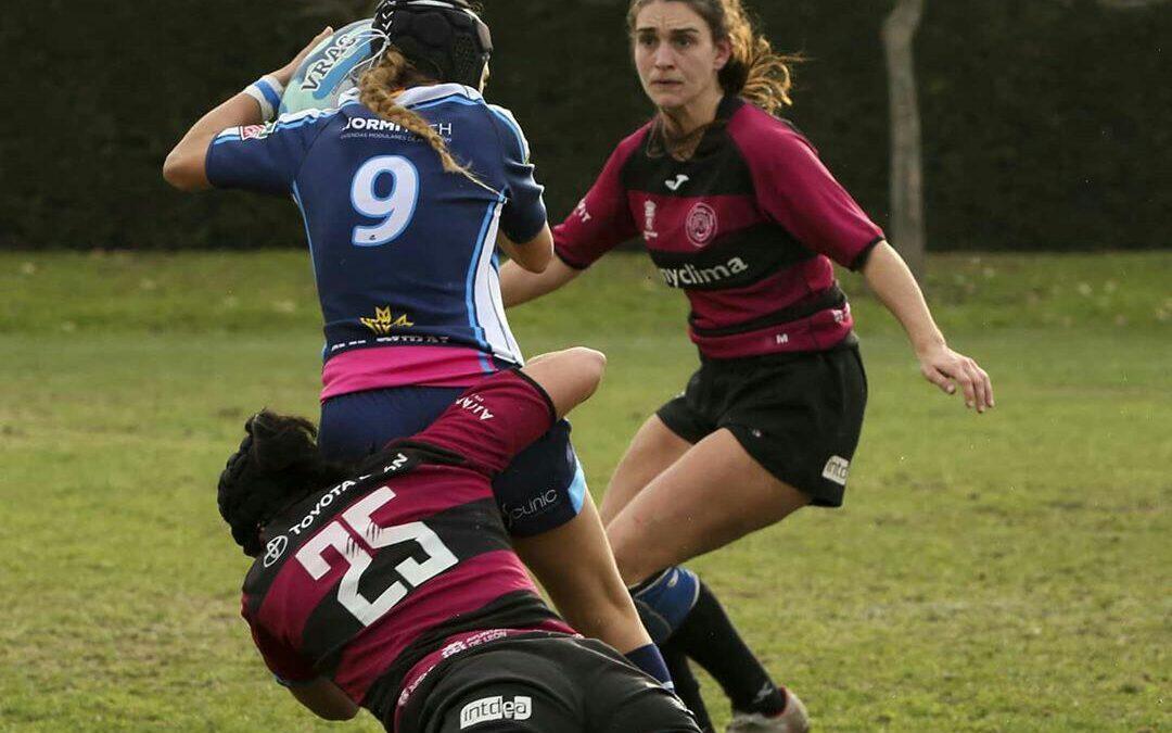 Derrota por la mínima del ULE Albéitar León Rugby Club frente al VRAC Quesos Entrepinares
