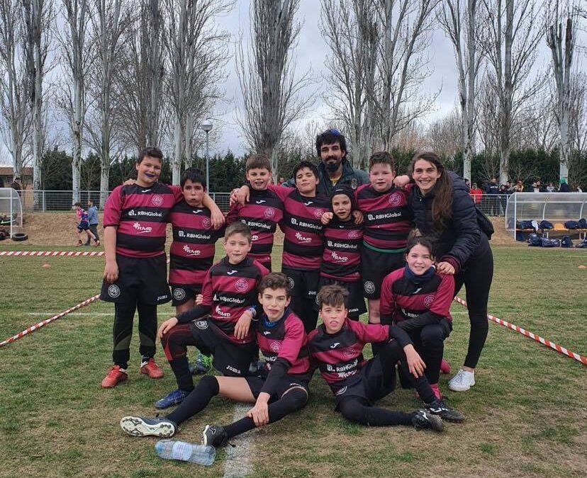 Buena actuación de la Escuela RBH Global León Rugby Club en Salamanca