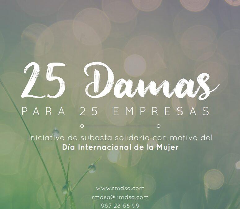 25 Damas para 25 Empresas | RMD | Día Internacional de la Mujer
